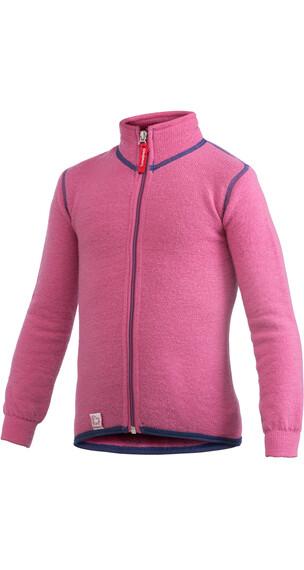 Woolpower 400 Full Zip Jacket Kids sea star rose